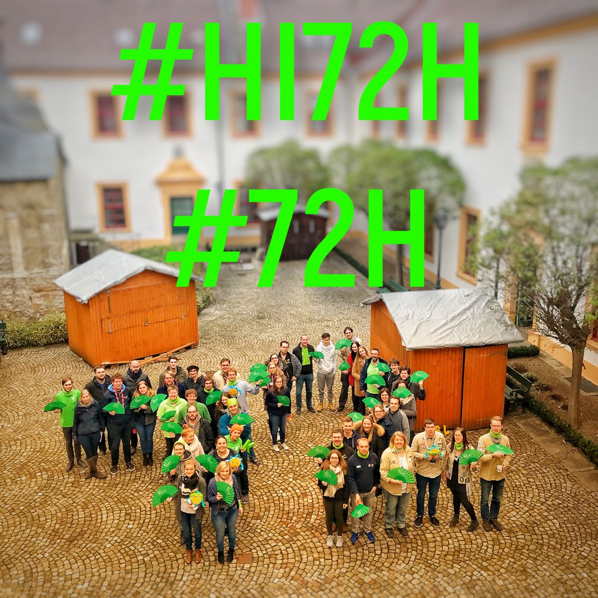 #HI72H #macheszudeineraktion #72H